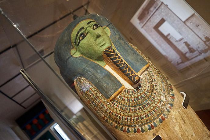 green face egyptian sarcophagus coffin zombie mummy