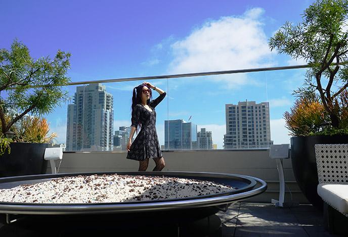 andaz hyatt rooftop san diego bars hotels