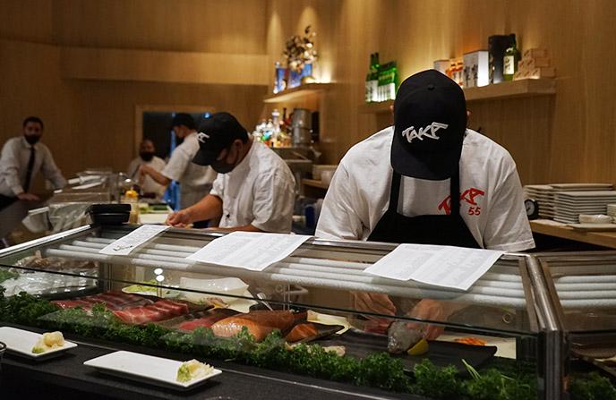 best san diego sushi bar taka menu
