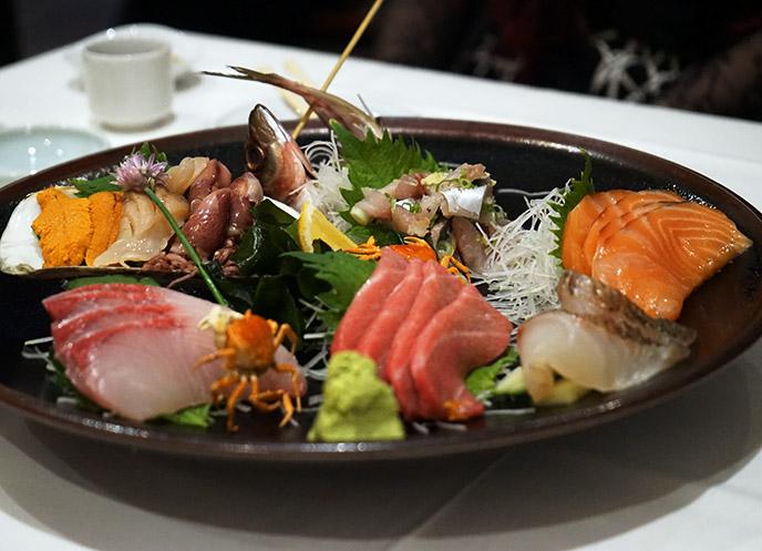 sashimi omakase taka sushi san diego