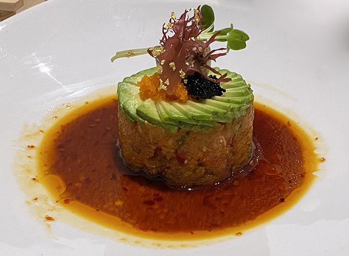 taka restaurant japanese sushi appetizer tartar