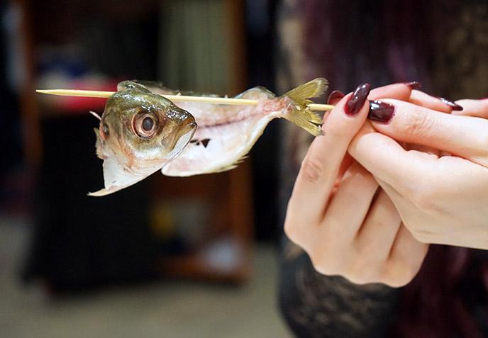fried fish taka sushi menu japanese