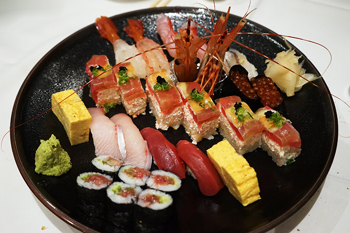 san diego authentic japanese sushi taka gaslamp rolls