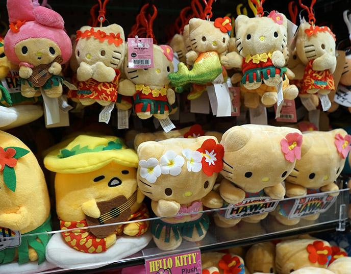 honolulu hello kitty sanrio hawaii souvenirs gifts