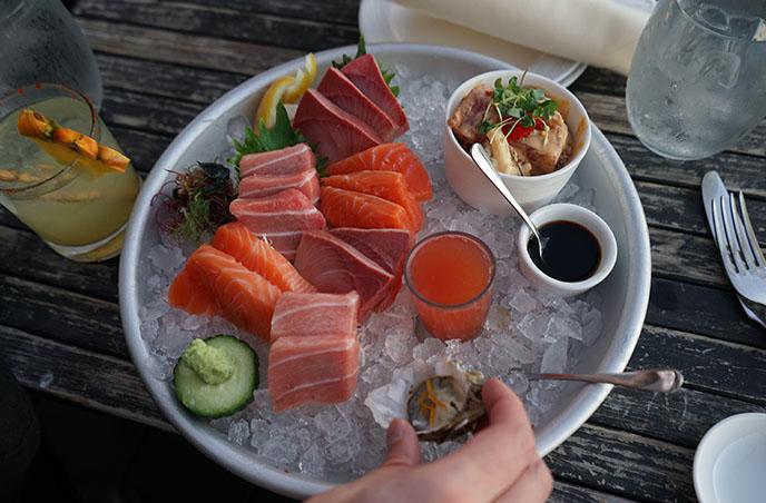 honolulu sushi sashimi japanese restaurant sky raw