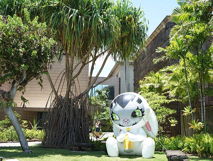 POW! WOW! Jasper Wong rabbit bunny Bishop Museum