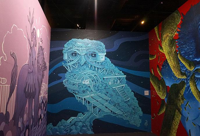 bishop museum street art murals installations