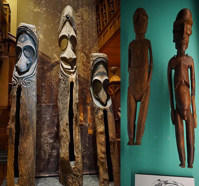 hawaii tribal native sculptures totems