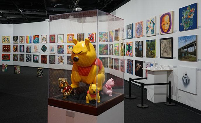 winnie pooh sculpture bishop museum honolulu hawaii