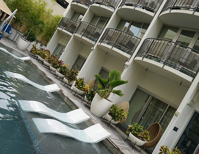 laylow hotel outdoor pool honolulu swimming pools