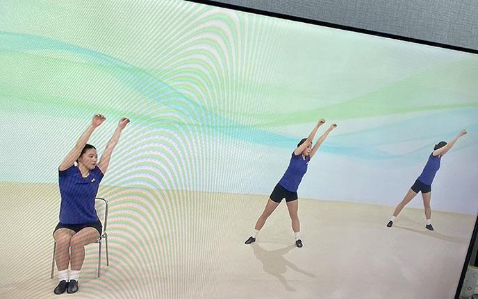 japanese tv exercise program funny