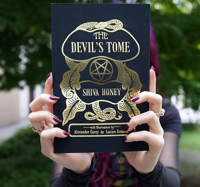 the devil's tome shiva honey book rituals