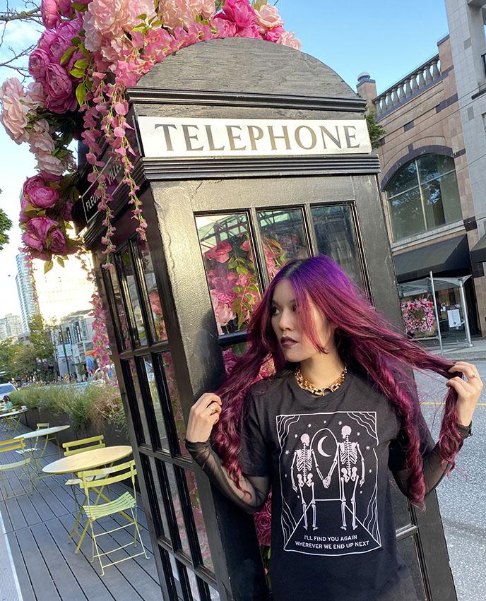 fleurs de villes vancouver bc telephone booth flowers public floral art