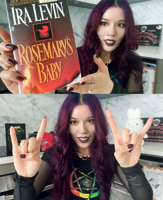 rosemary's baby hail satan book satanic novel