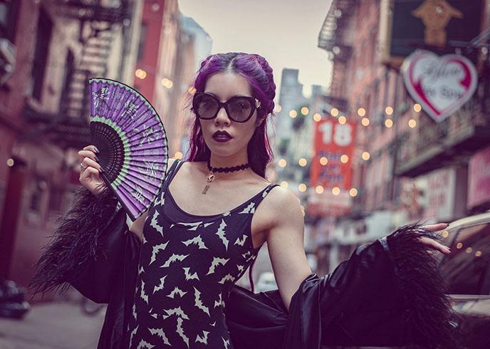 rock and roll fashion styling goth gothic stylist