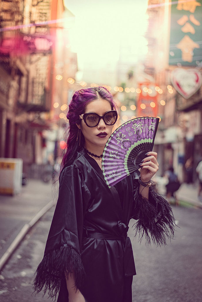 asian chinese japanese fashion styling chinatown new york