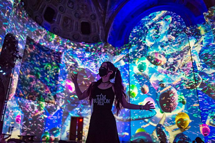 super real new york immersive digital art exhibition