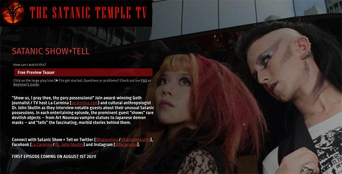 the satanic temple tv station tst television episodes