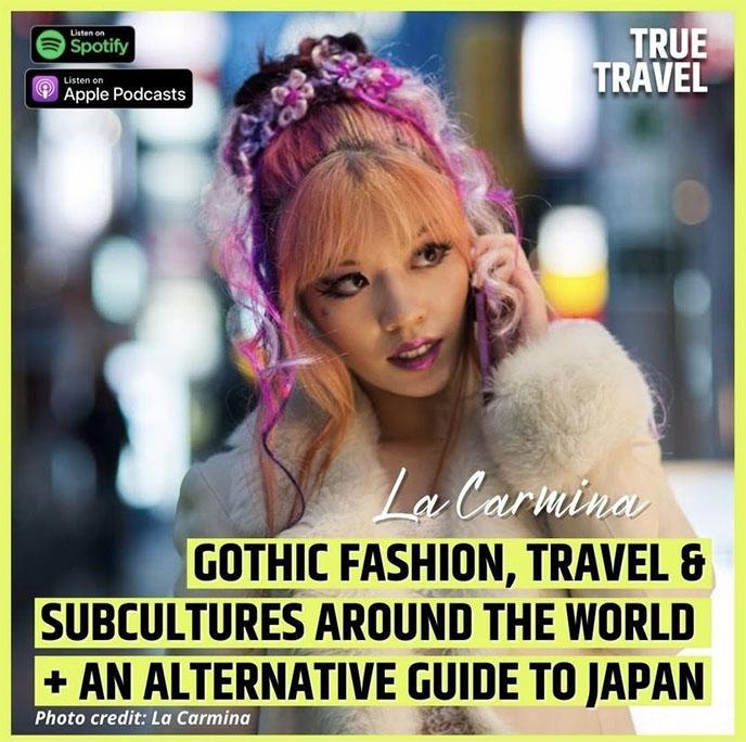 travel podcast guest radio interview la carmina